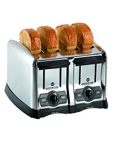 Hamilton Beach 24850 Hamilton Beach 4 Slice Extra-Wide Slot Commercial Toaster, Chrome, 120 Volts