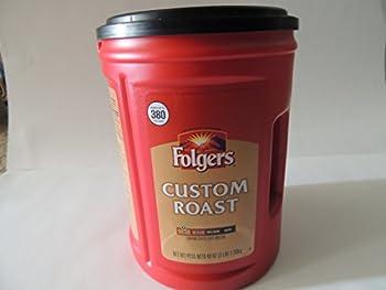 Folgers Custom Roast Ground Coffee - 48oz - CASE PACK OF 2