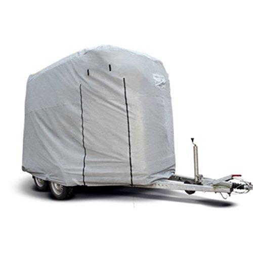 Original CAPA Schutzhaube für 1,5er Pferdeanhänger Pferdetransporter Pferdehänger als Abdeckung Schutz Cover Schutzhülle Garage HT01