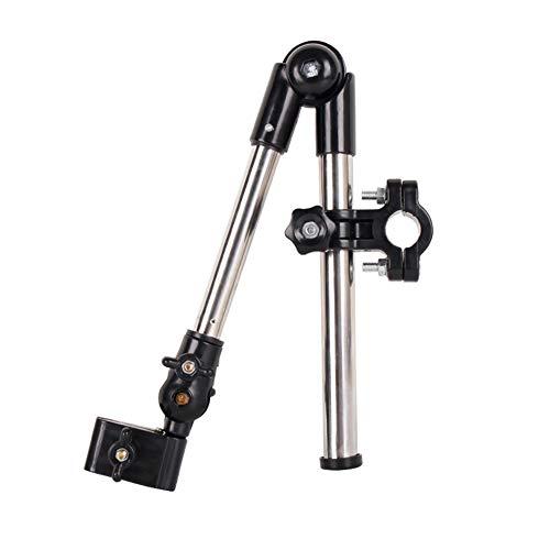 YOUGL Umbrella Multi-angle Connector Holder,Adjustable Outdoor Umbrella Mount Holder, for Wheelchairs, Walker, Rollator, Bike, Pram, Wheelchair Accessories