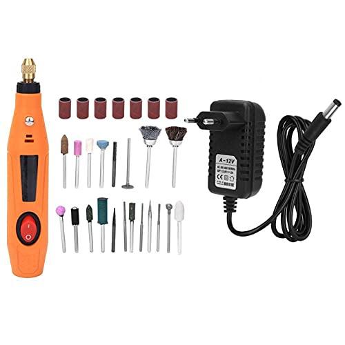 Kit de herramientas rotativas 12V 16000rpm Mini amoladora eléctrica Juego de accesorios de herramienta de pulido de pulido
