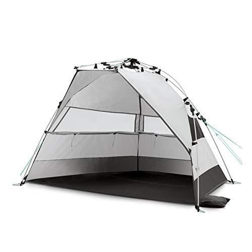 Qeedo Quick Bay Tienda de Playa (Quick-Up-System), Carpa playa con protección UV80