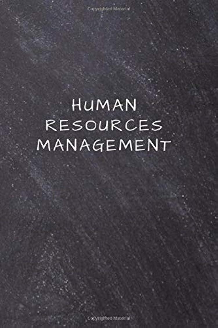 囲むデクリメント全部Human Resources Management: Lined Notebook, Diary, Journal