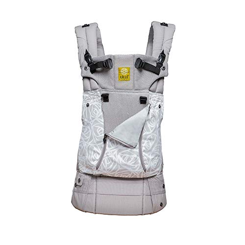 LÍLLÉbaby Complete All Seasons SIX-Position 360° Ergonomic Baby & Child Carrier, Frosted Rose - Lumbar Support