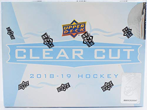 2018/19 Upper Deck Clear Cut NHL Hockey box (ONE encased Autograph card)