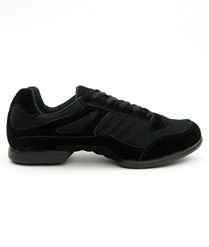 RUMPF Samba Sneaker Sportschuhe Ballet & Tanzschuhe Dance, Schwarz (Black), 39.5 EU/ Herstellergröße- 6 UK