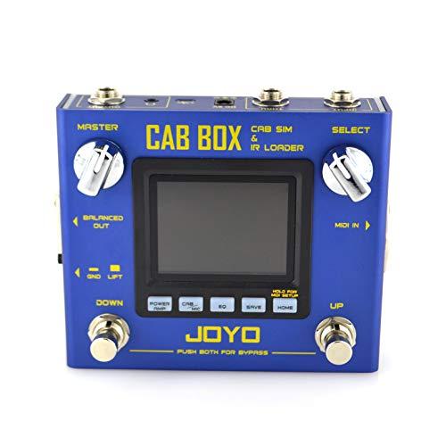 JOYO Cab Box - Guitar Amplifier Cabinet Speaker Simulator and IR Loader