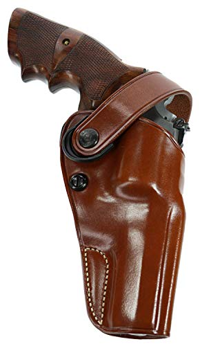 GALCO - Dual Action Outdoorsman Strongside/Crossdraw Belt Holster for Smith & Wesson, N FR .44 Model 29/629 4-Inch, Right Hand (Tan) (DAO126)