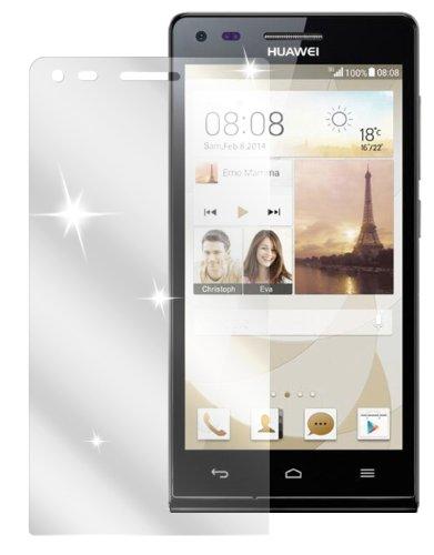 dipos I 2X Schutzfolie klar kompatibel mit Huawei Ascend P7 Mini Folie Bildschirmschutzfolie