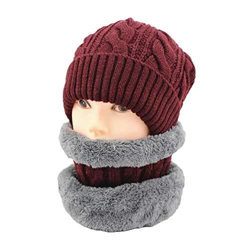 YDS SHOP Hoed Sjaal Set Beanie Vrouwen Heren Winter Breien Schedel Cap Warm Slouchy Unisex Onesize 2