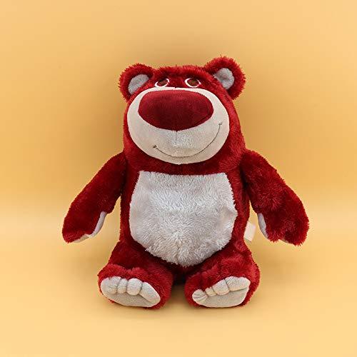 xinyawl Juguete de Peluche 1pc 15cm Toy Story Oso De Fresa Juguete De Peluche Colgante Kawaii Oso De Peluche Juguete Super Suave para Niños con Olor A Fresa