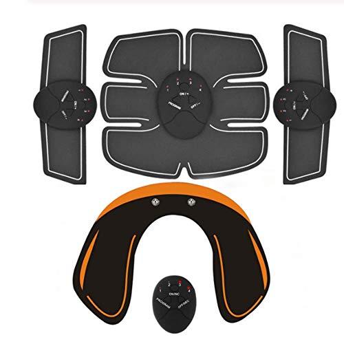 SISHUINIANHUA Smart EMS Hips Trainer Elektrischer Muskelstimulator Drahtlose Gesäß Bauch ABS Stimulator Fitness Körper Abnehmen Massagegerät,3