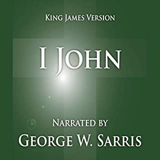The Holy Bible - KJV: 1 John cover art