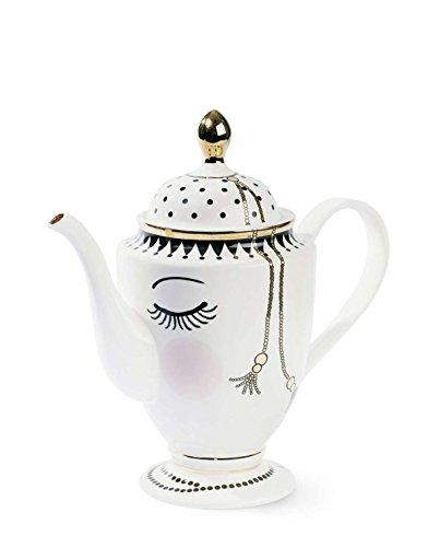 Miss Étoile Kaffeekanne Augen Geschlossen