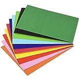 SUPVOX 56 Pezzi di Fogli Ondulati Fai-da-Te A4 Cartoncino Colorato Cartone Ondulato per Progetti Fai da Te Artigianali Kit per La Fabbricazione di Fiori Artigianali