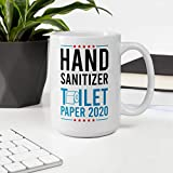 Hand Sanitizer For President Mug - Funny Quote Mug,President Donald Trump 2020, Keep America Great Coffee Mug 11 Oz