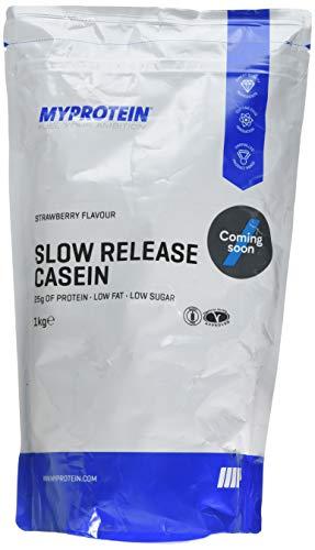 マイプロテイン カゼインミセルプロテイン (ストロベリー, 1kg)