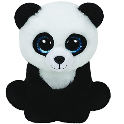 7d167a8a61a Amazon.com  Ty Beanies - ty90223 - ming The Panda Plush 23 cm  Toys   Games