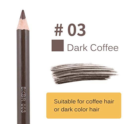 Roiper Brun Noir Eye Liner imperméable léopard Sourcils Eye Brosse Crayon