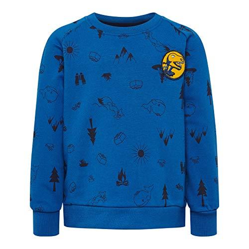 Lego Wear Baby-Jungen LWSIRIUS 650-SWEATSHIRT Sweatshirt, Blau (Blue 553), (Herstellergröße:98)