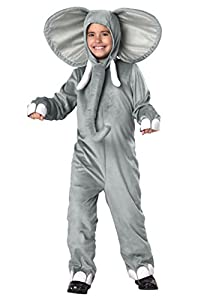 Kid's Elephant Costume Small