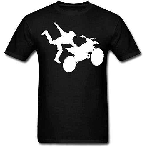 Casco Downhill T-Shirt Biker Hombre-s y Mujer-es Diabolo Moto-X- Motociclismo Baddery Camiseta: Dirt Devil Motocicleta Regalo Motero-s Moto Freestyle Moto-Cross Bike