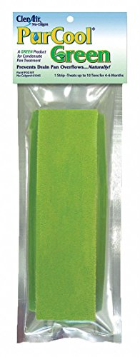 Nu-Calgon 61045 PurCool Condensate Pan Treatment Green Commercial Strip, 10 Tons