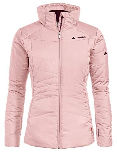 VAUDE Women's Skomer Winter Jacket Veste Isolante Tendance pour la randonnée # très Chaude # Facile d'Entretien # Fabrication écologique Femme, Rosewater, FR : M (Taille Fabricant : 40)