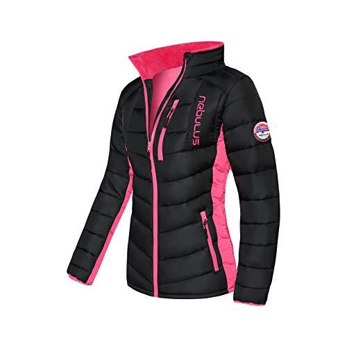 Nebulus Winterjacke GRAFFITY Damen (Model: P4770 - Damen, schwarz-pink; Größe: L(40)) FBA