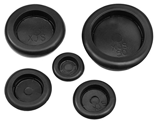 10x KFZ Gummi Stopfen Karosseriestopfen Gummistopfen Verschlusskappe Gummitüllen (Ø15mm)