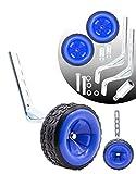 moli dee Bicycle Training Wheels Fits 16 18 20 22 24 inch Kids Bike (Blue)