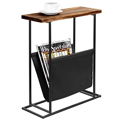 end table with magazine rack - 9