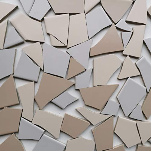 Fliesenbruch frostfest Verschiedene Mixe Mosaik Bruchfliesen (3.5, Naturmix)