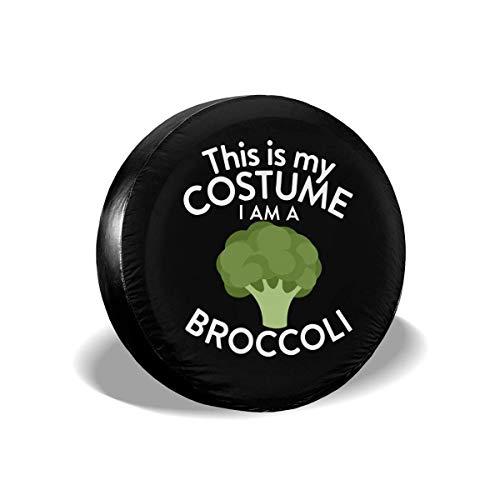 Enoqunt Dit is mijn kostuum. Ik ben een Brokkoli-reservebandenhoes, geschikt voor goedkope vrachtwagenaanhangers en vele voertuigen.