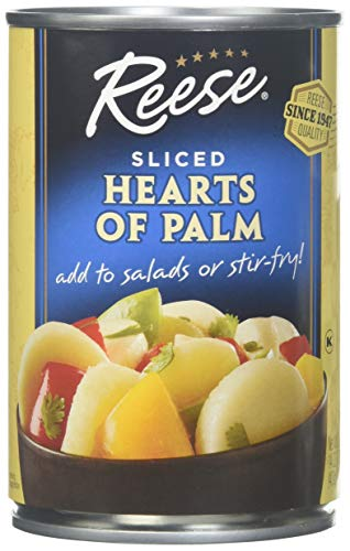 Reese Hearts of Palm Slices, 14 Ounces (Pack of 6)