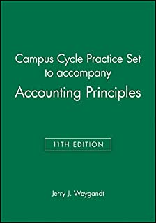 Campus Cycle Practice Set T/a Accounting Principles, 11th Edition