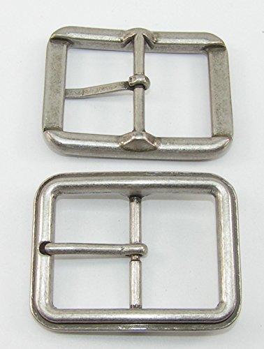 TvT-web 1 Fibbia//Fibbia per Cintura 3,5 cm Ottone Antico 3 Pezzi 01.51//483