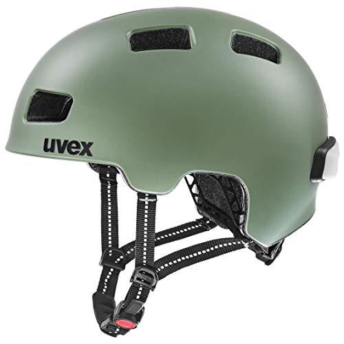 uvex Unisex– Erwachsene, city 4 Fahrradhelm, moss green mat, 58-61 cm