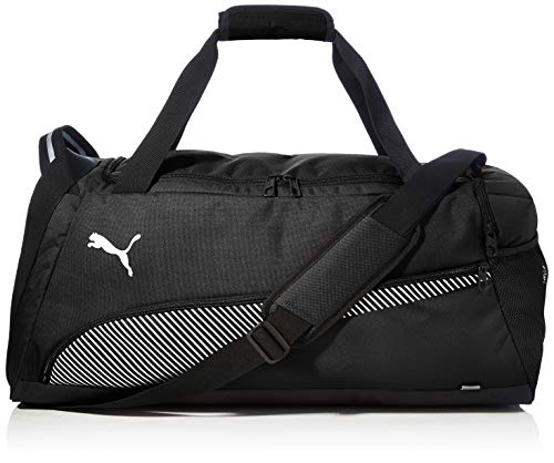 PUMA Fundamentals Sports Bag M Bolsa Deporte, Unisex Adulto, Black, OSFA