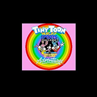 Tiny Toon Adventures - Wacky Sports Challenge NTSC Version 16 Bit 46 Pin Big Gray Game Card For USA Game Players