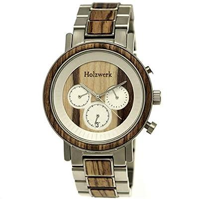 Handgefertigte Designer Uhr von Holzwerk Germany®
