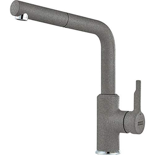 Franke 115.0595.089 Urban Pull-out - Grifo de lavabo, color gris piedra