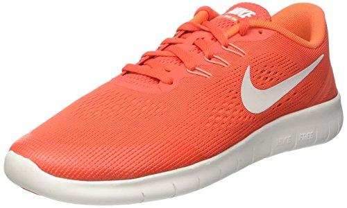 Nike Jungen Free RN Laufschuhe, Orange (Max Orange/Pure Platinum/Orchid/Off White), 38 EU