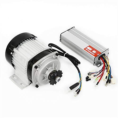 Motor eléctrico sin escobillas, 48 V, 750 W, motor eléctrico sin escobillas, controlador para triciclos, bicicletas eléctricas, patinete eléctrico