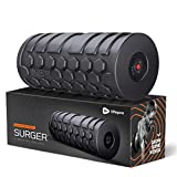 Lifepro 4-Speed Vibrating Foam Roller - High Intensity Vibrating Roller for Muscle Recovery, Mobility & Pliability Training - Deep Tissue Vibrant Massage for Awesome Trigger Point Sports Therapy