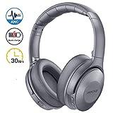 Mpow H17 Casque Bluetooth Reduction de Bruit Active, 2 Heures de Charge Rapide Casque Audio, 30 Heures Temps de Musique, Deep Bass...