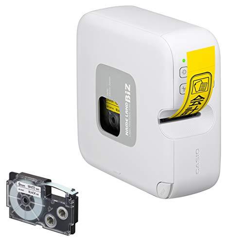 カシオ ラベルライター ネームランドBIZ PC&スマホ接続モデル テープ付セット KL-PS-SET (3.5mm-24mm幅)