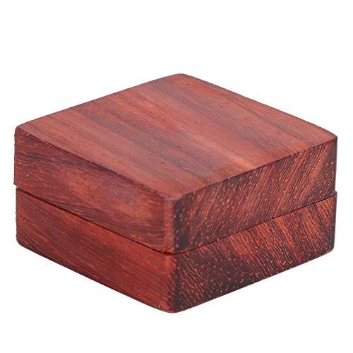 Púas clásicas, caja de púas de guitarra duradera de palisandro, púas de madera de diseños únicos, para amantes de la música de guitarra