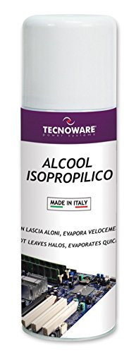 Tecnoware FOE17304 Easy Service Bombola con Alcool Isopropilico da 200 ml [Italia]