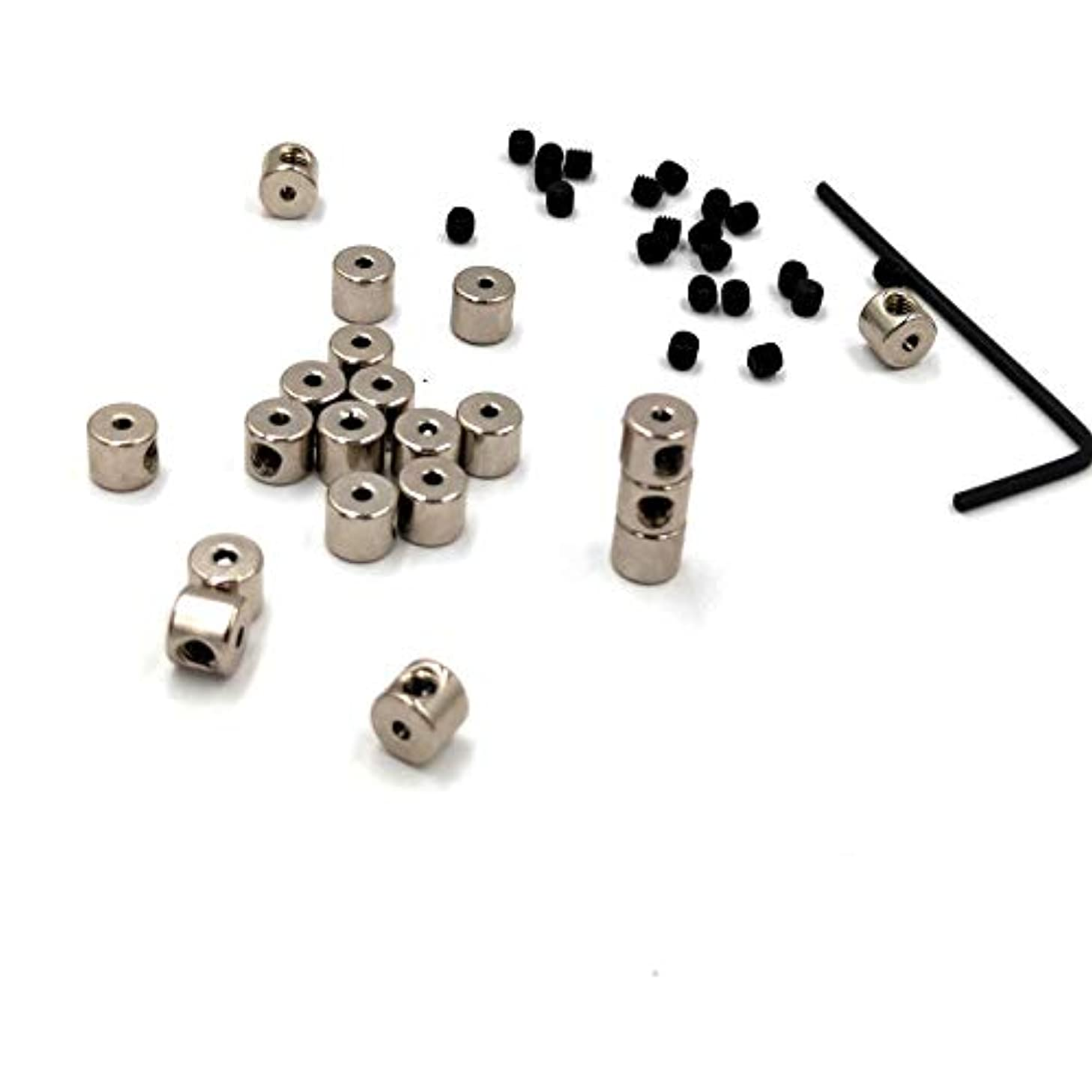 Ruchen 20pcs Pin Keepers Locking Pin Keepers Back with Wrench Biker Very Low Ship
